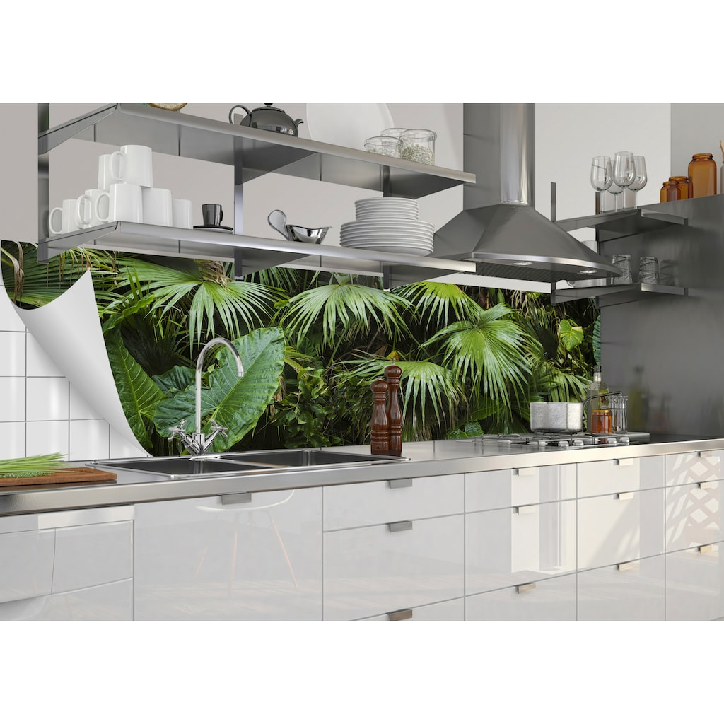MySpotti Küchenrückwand »mySPOTTIfixy Josh«, selbstklebende und flexible Küchenrückwand-Folie