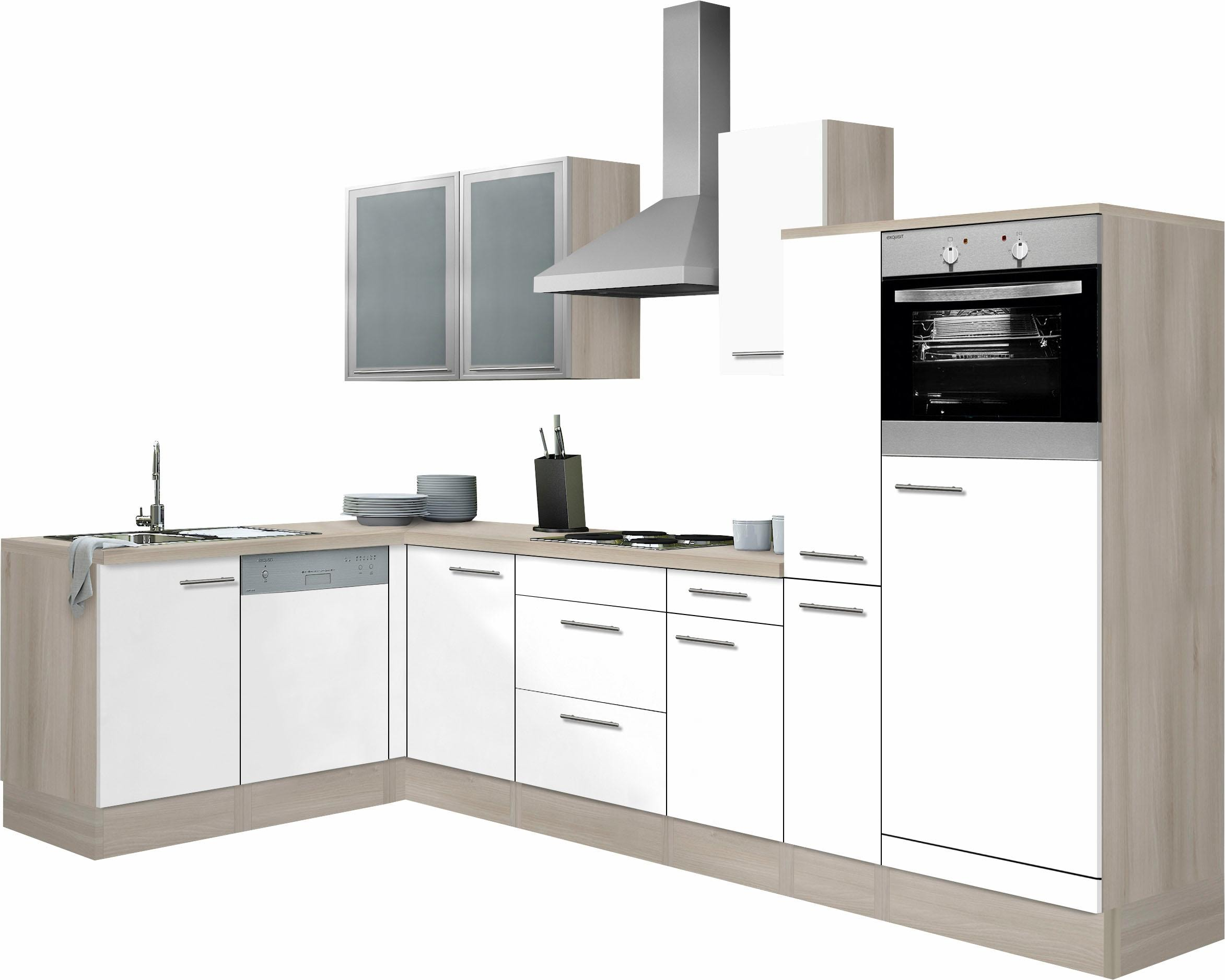 OPTIFIT Winkelküche Kalmar ohne E-Geräte Stellbreite 300 x 175 cm