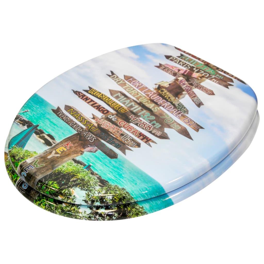 Sanilo WC-Sitz »Key West«, mit Absenkautomatik