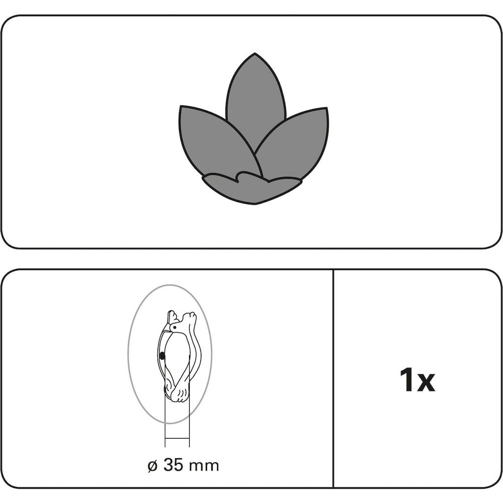 GARDINIA Dekoklammer »Flower«