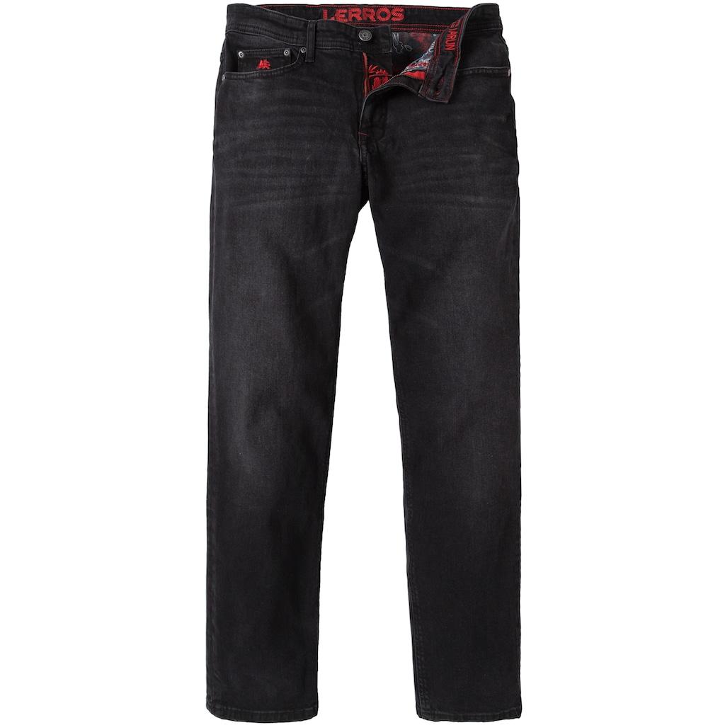 LERROS 5-Pocket-Jeans, mit leichten Abriebeffekten
