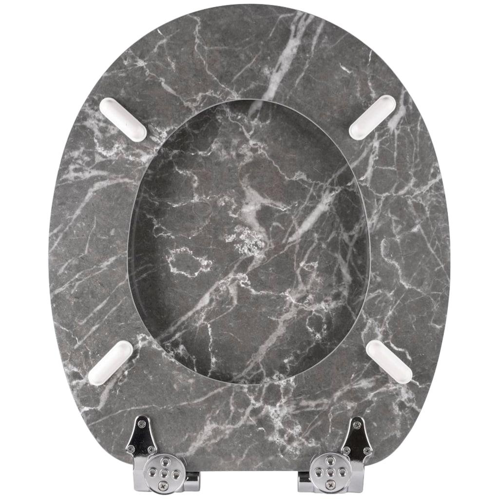 Sanilo WC-Sitz »Marmor«, mit Absenkautomatik
