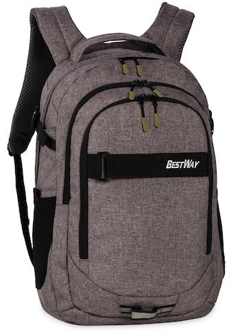 Bestway Laptoprucksack »Evolution Air, dunkelgrau« kaufen
