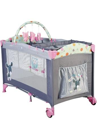 BabyGo Baby-Reisebett »Sleepwell, pink«, mit abnehmbarem Spielbogen kaufen