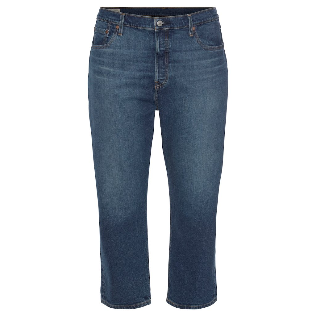 Levi's® Plus Straight-Jeans »501 Crop«, High Waist