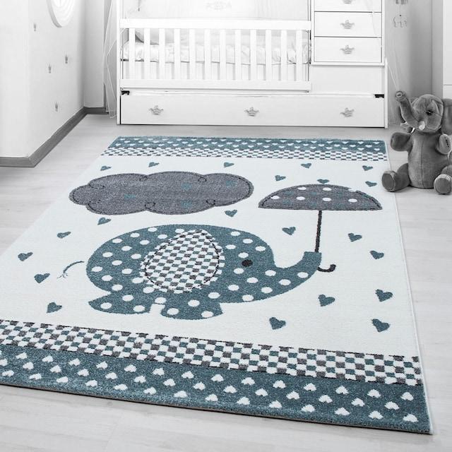 Kinderteppich, »Kids 570«, Ayyildiz, rechteckig, Höhe 12 mm, maschinell gewebt