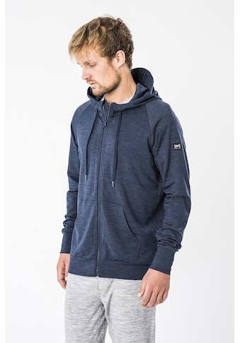 SUPER.NATURAL Kapuzensweatjacke »M ESSENTIAL ZIP HOODIE«, pflegeleichter Merino-Materialmix kaufen