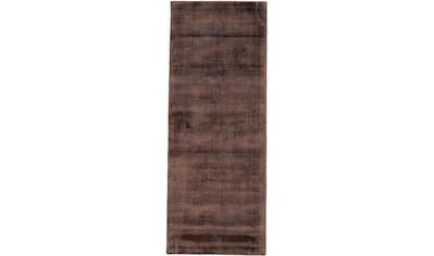 carpetfine Läufer »Ava«, rechteckig, 13 mm Höhe, Viskoseteppich, Seidenoptik kaufen
