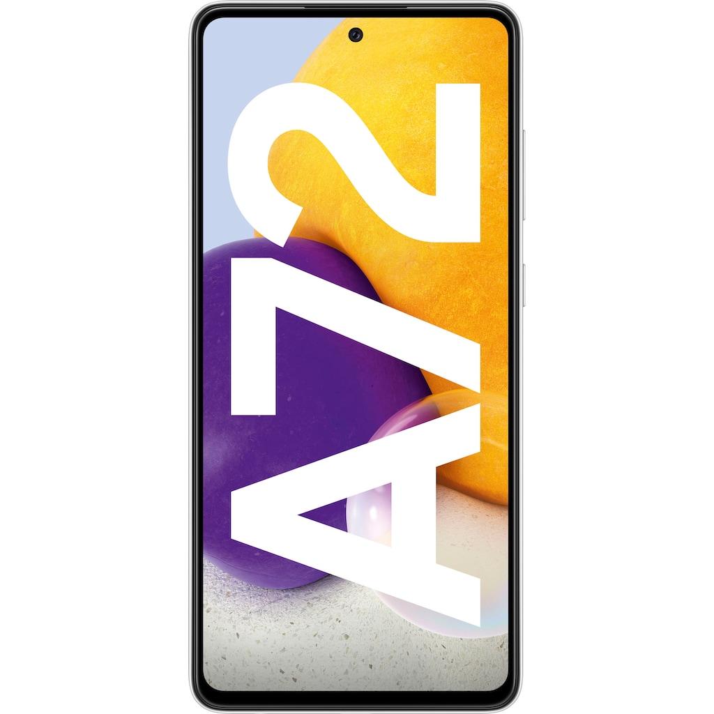 """Samsung Smartphone »Galaxy A72«, (16,95 cm/6,7 """" 128 GB Speicherplatz, 64 MP Kamera), 3 Jahre Garantie"""