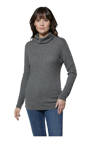 Creation L Merino - Kaschmir - Pullover mit Rollkragen kaufen