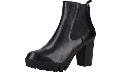 s.Oliver BLACK LABEL High-Heel-Stiefelette »Leder« kaufen