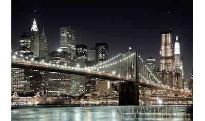 Papermoon Fototapete »Manhatten Bridge« kaufen