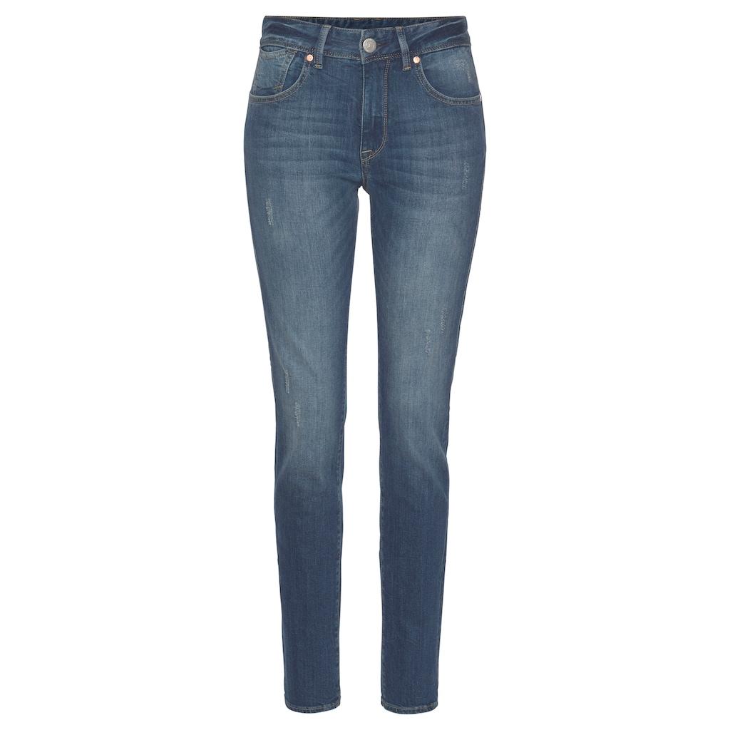 Herrlicher Slim-fit-Jeans »QUENDOLIN«, mit leichtem Push Up Effekt