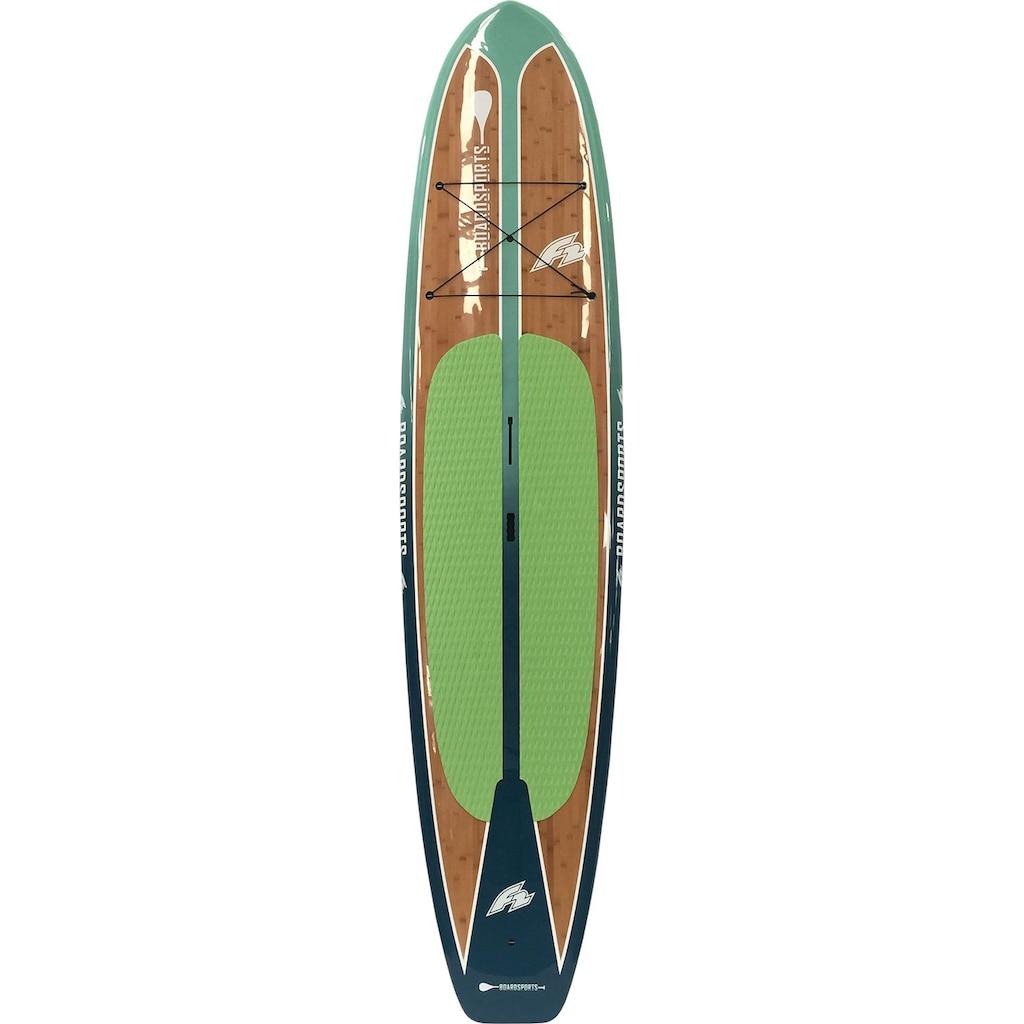 F2 SUP-Board »Ride Pro Bamboo«