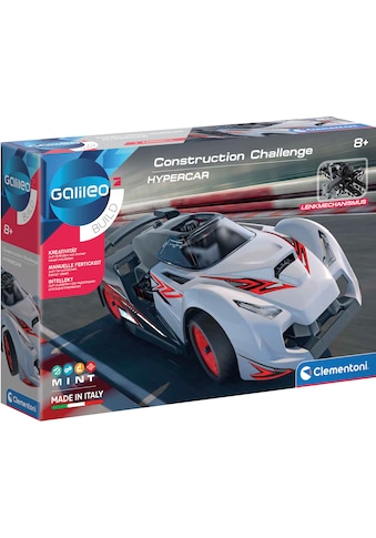 Clementoni® Experimentierkasten »Galileo - Construction Challange Hypercar«, Made in... kaufen