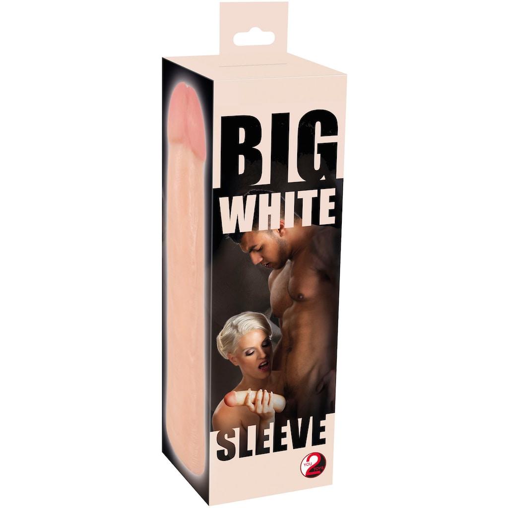 You2Toys Penishülle »Big white sleeve«