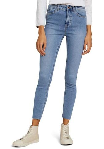 TOM TAILOR mine to five Skinny-fit-Jeans, mit heller Waschung und geschnittener Saumkante kaufen