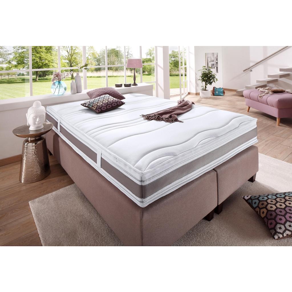 fan Schlafkomfort Exklusiv Taschenfederkernmatratze »Punktoflex De Luxe T«, 544 Federn, (1 St.), Natürlicher Schutz gegen Milben