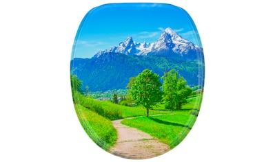 Sanilo WC-Sitz »Alpen«, mit Absenkautomatik kaufen