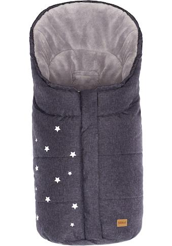 Fillikid Fußsack »Askja Winterfußsack, schwarz melange« kaufen