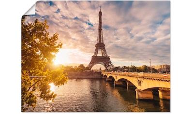 Artland Wandbild »Paris Eiffelturm II« kaufen