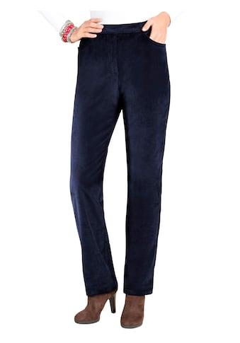 Classic Basics Cord - Hose mit fester Bundpatte vorne für eine flache Bauchpartie kaufen