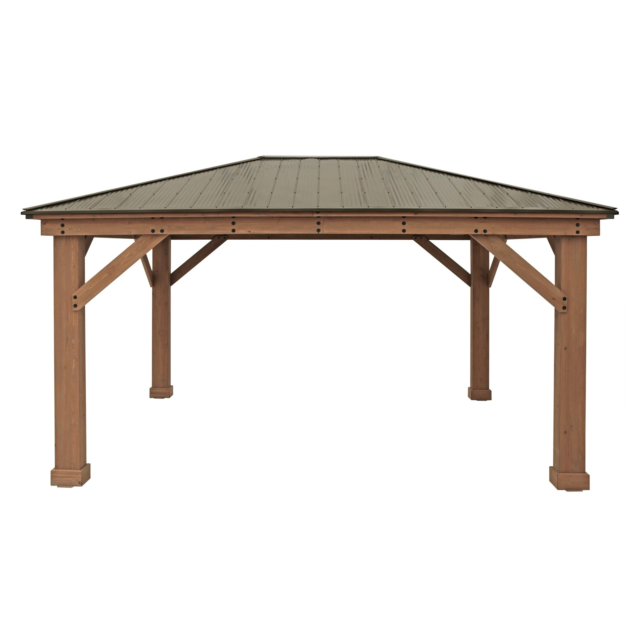 WESTMANN Holzpavillon Devon 12x16, BxT: 371x490 cm günstig online kaufen