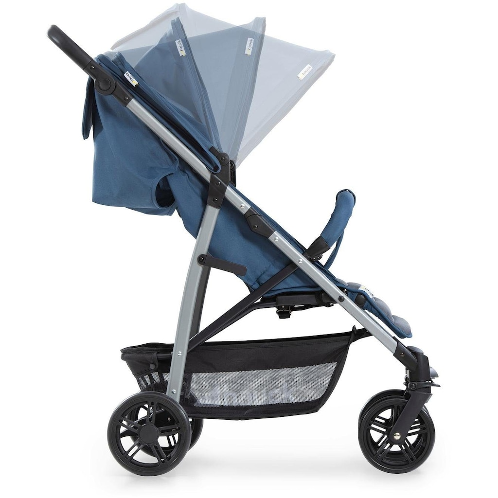 Hauck Kinder-Buggy »Rapid 4, Denim/Grey«, mit schwenk- und feststellbaren Vorderrädern; Kinderwagen, Buggy, Sportwagen, Sportbuggy, Kinderbuggy, Sport-Kinderwagen