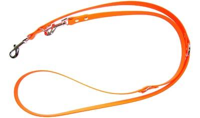 HEIM Hundeleine »Biothane«, orange, B: 0,9 cm, versch. Längen kaufen