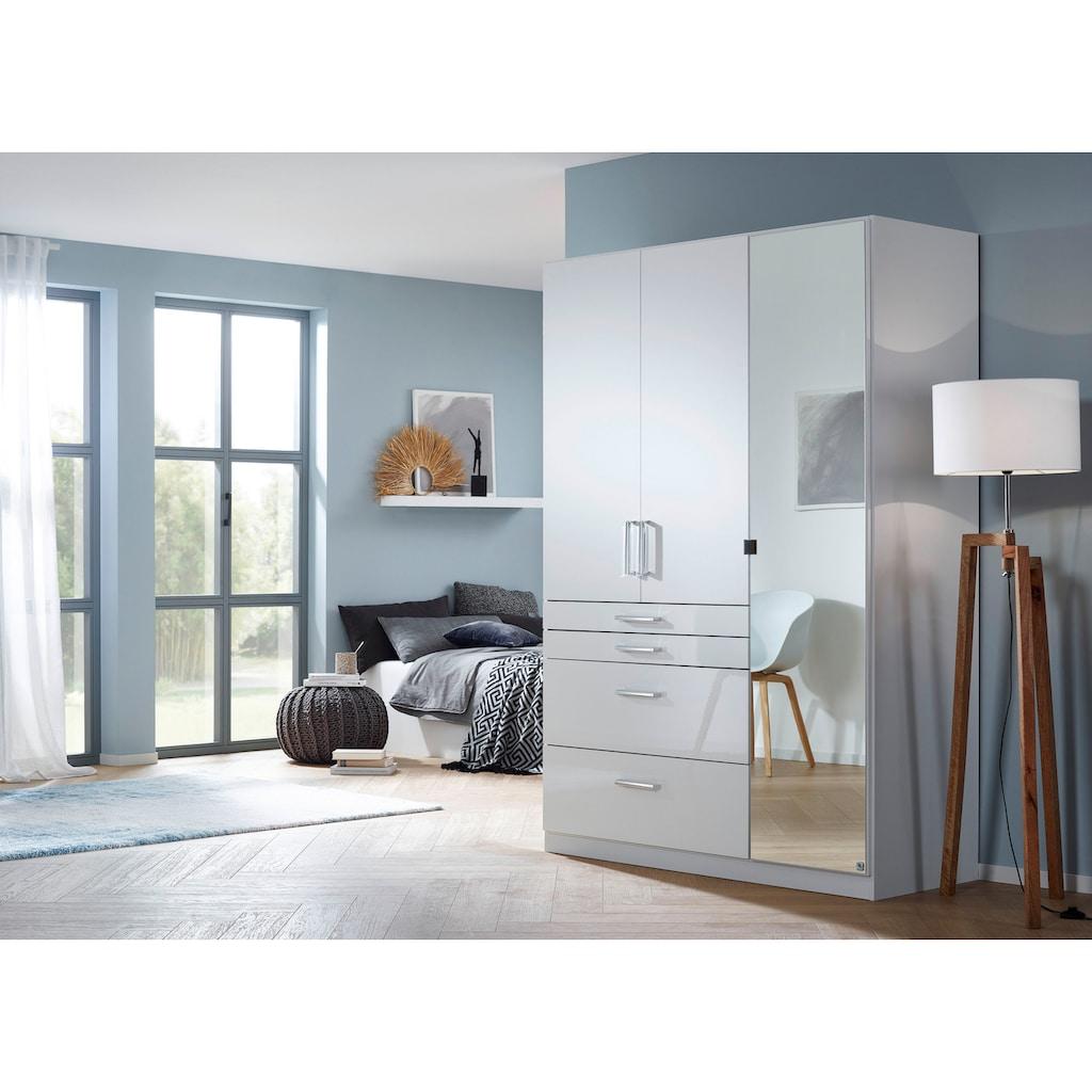 rauch BLUE Drehtürenschrank »Homburg«, mit Spiegel, oberer Schubkasten mit Einteilung