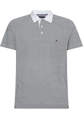 TOMMY HILFIGER Poloshirt »MICRO PRINT SLIM POLO« kaufen