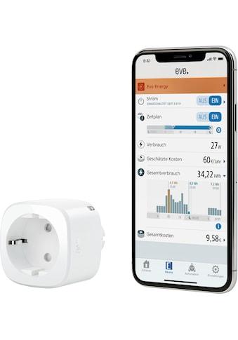 EVE »Energy Smarte Steckdose mit Verbrauchsmessung« Zwischenstecker kaufen