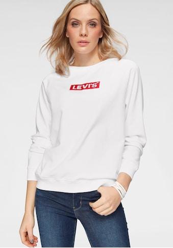 Levi's® Sweatshirt »Relaxed Graphic Crew« kaufen