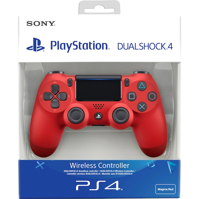 PlayStation 4 Wireless-Controller »PS4 Magma Red v2 Dualshock«