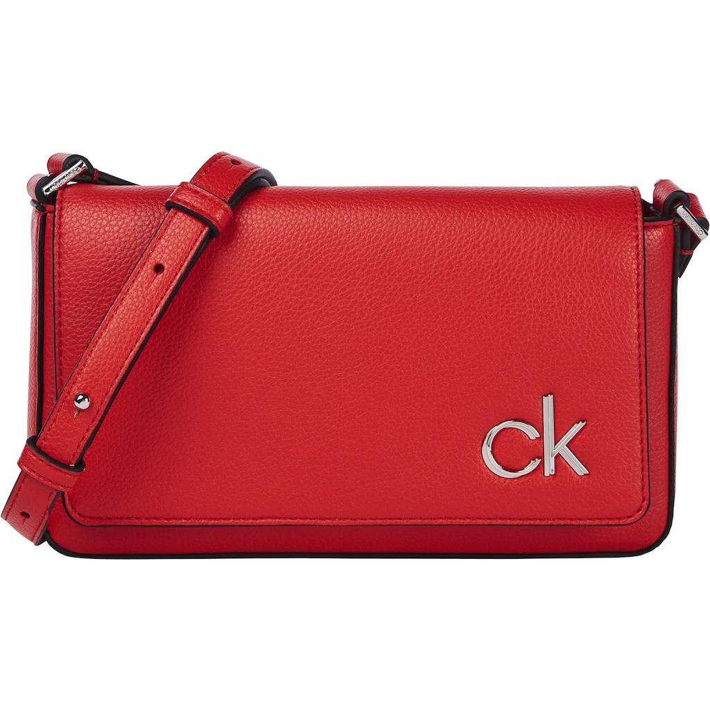 Calvin Klein Umhängetasche »EW FLAP XBODY«, in schlichter Optik