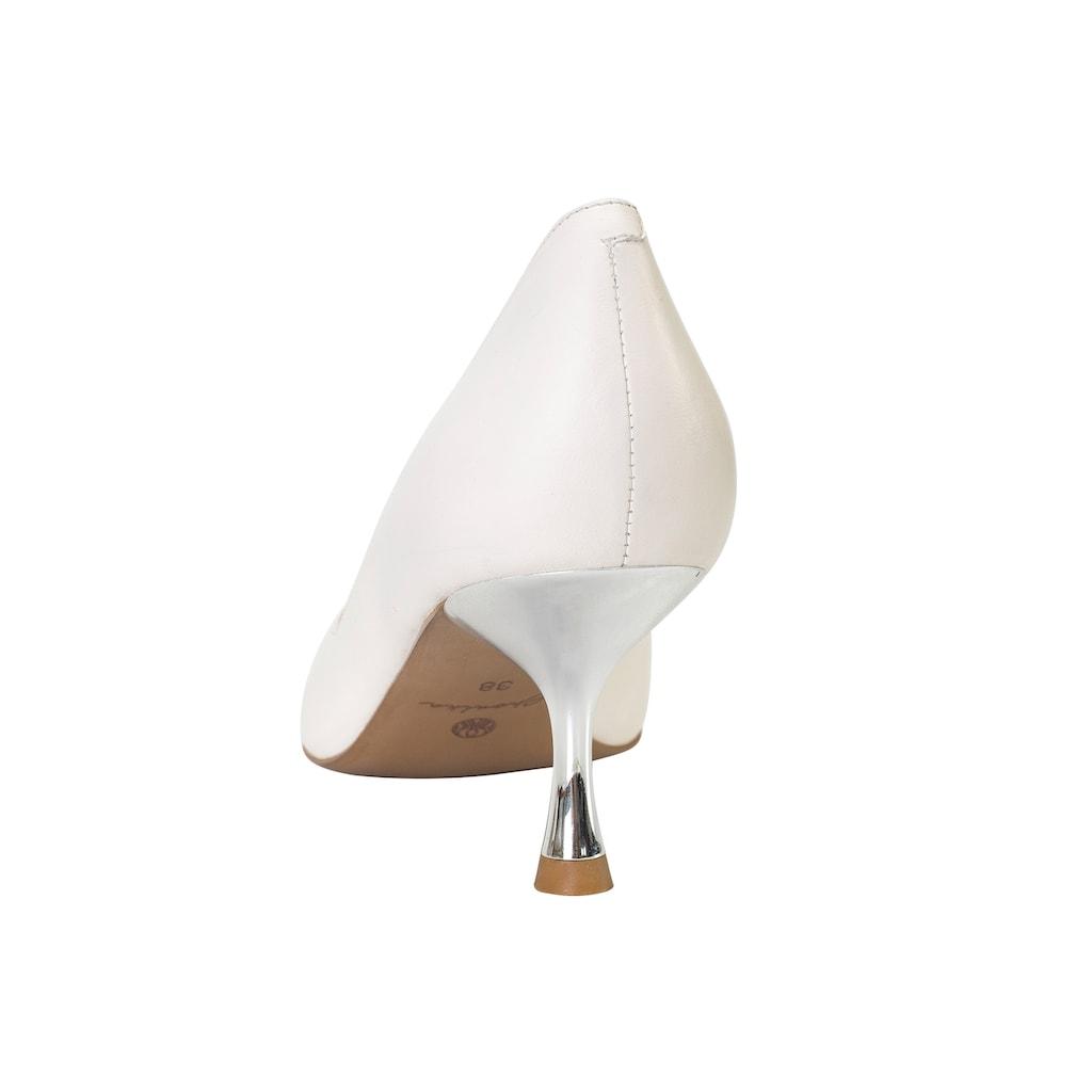 ekonika Pumps, mit metallischem Kitten-Heel-Absatz