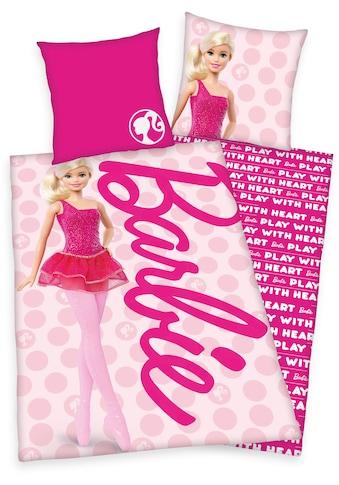 Mattel® Kinderbettwäsche »Barbie«, mit tollem Barbie-Motiv kaufen