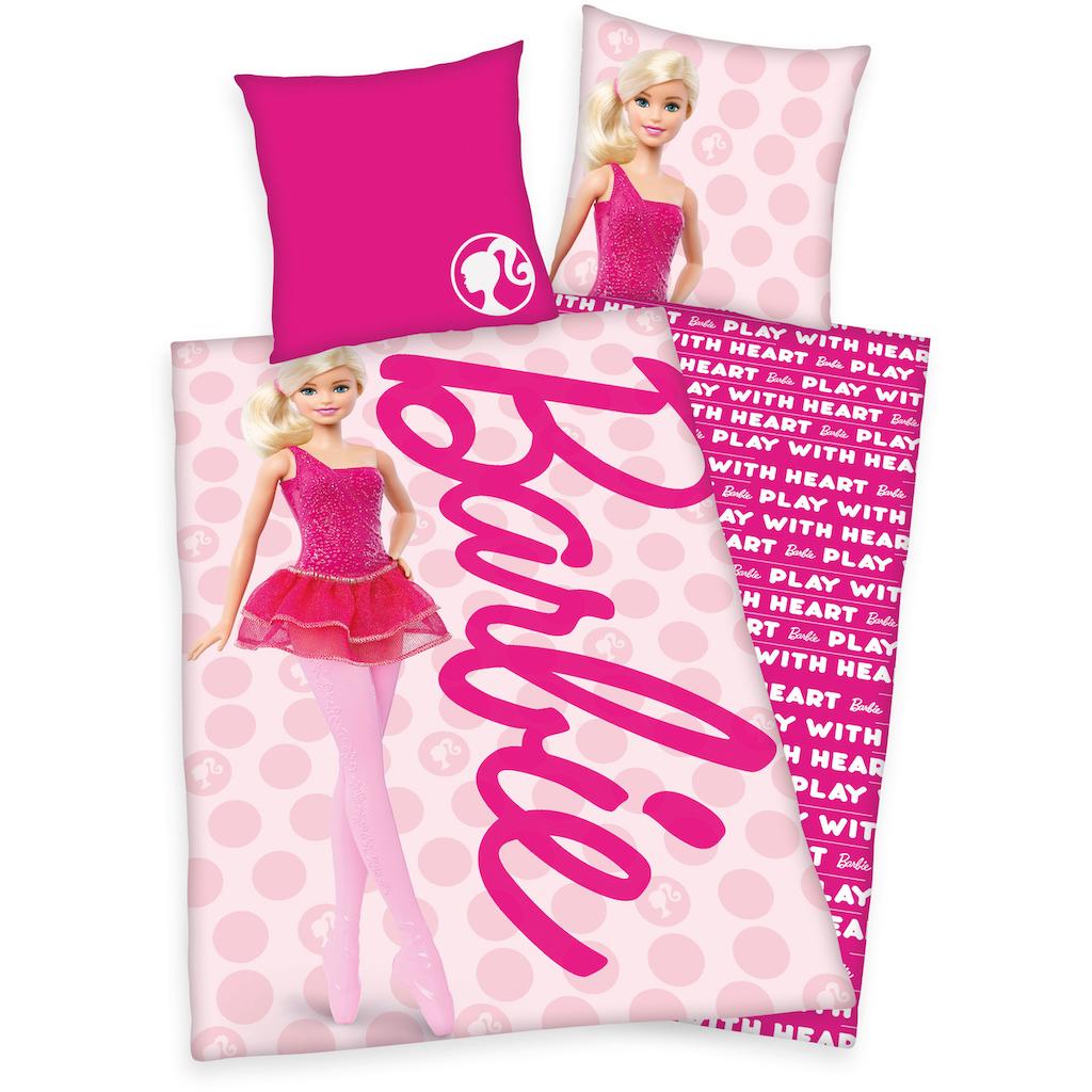 Mattel® Kinderbettwäsche »Barbie«, mit tollem Barbie-Motiv