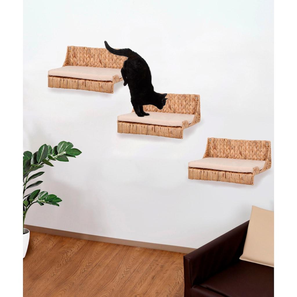 SILVIO design Katzen-Kletterwand »Fenja«, hoch, 3-tlg., BxTxH: 40x25x15 cm
