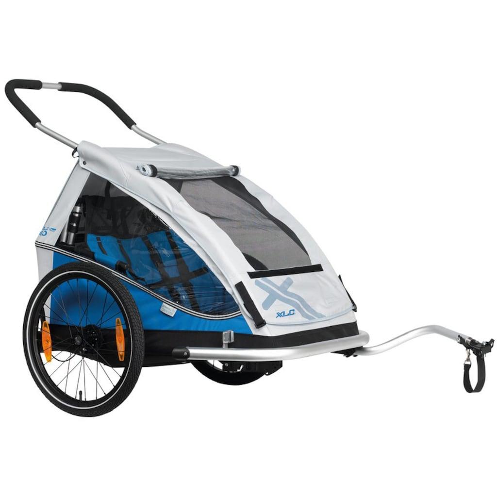 XLC Fahrradkinderanhänger »DUO«