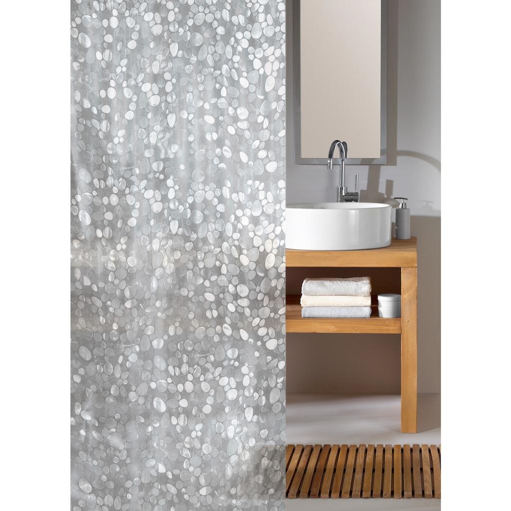 Kleine Wolke Duschvorhang »Cristal«, Breite 180 cm, Höhe 200 cm