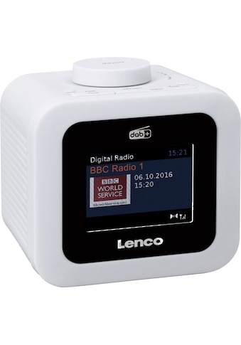 Lenco Radiowecker »CR-620«, ( Digitalradio (DAB+)-FM-Tuner 2 W) kaufen