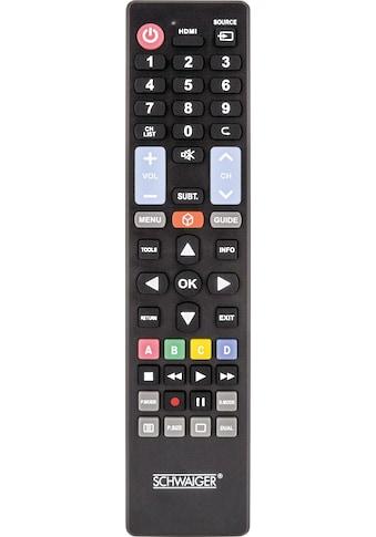 Schwaiger 5 in 1 Ersatzfernbedienung für alle Samsung, LG, Sony, Philips, »Panasonic TV - Geräte« kaufen