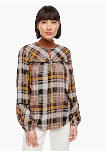s.Oliver Flanellbluse kaufen