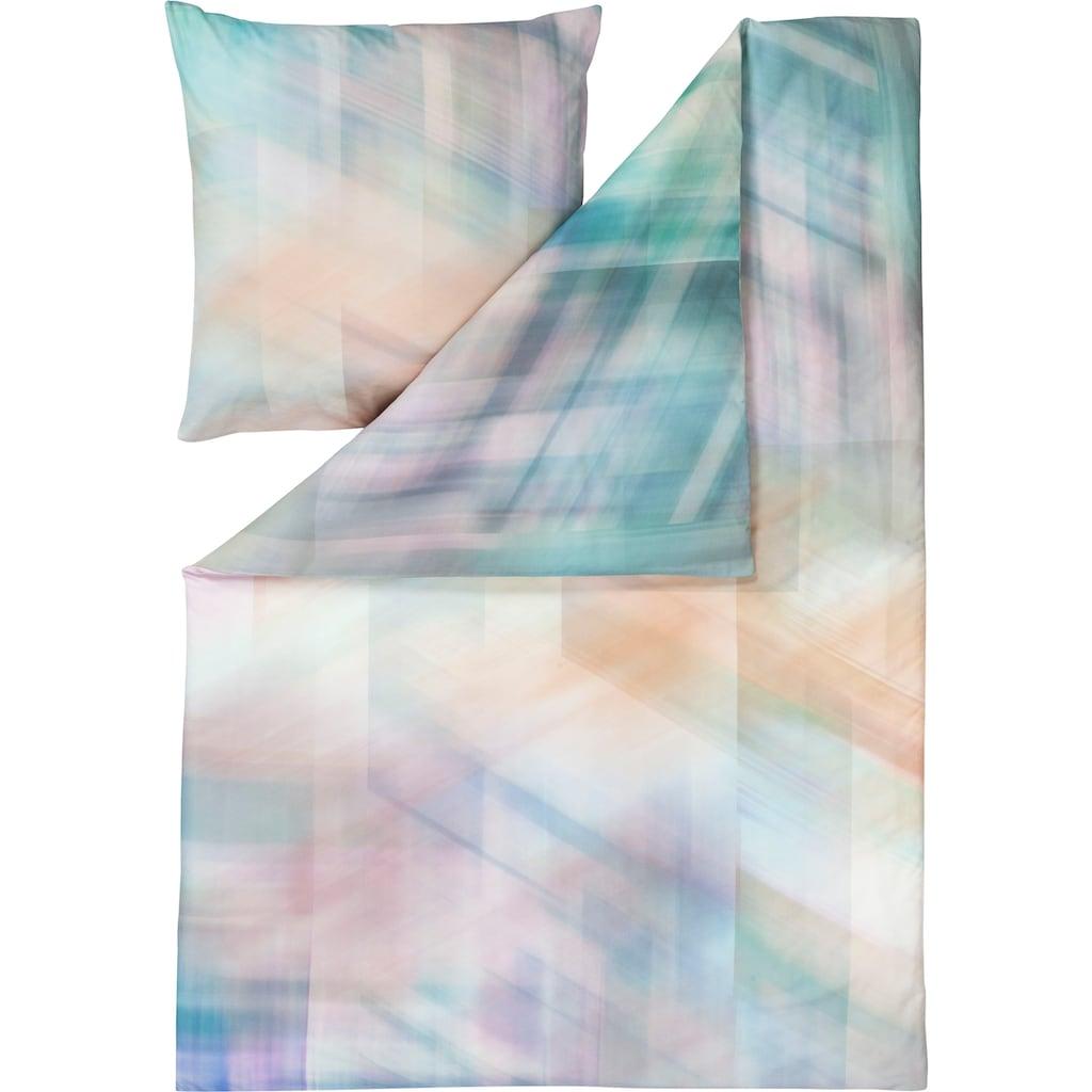 Estella Bettwäsche »Mirage«, mit moderner Grafik in Pastellfarben