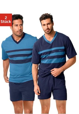 le jogger® Shorty, (Packung, 2 Stück), mit Colourblocks kaufen