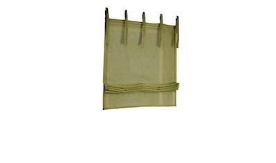 Raffrollo, mit Bindebänder kaufen
