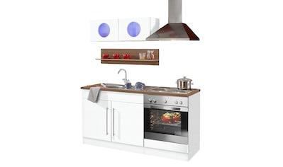 HELD MÖBEL Küchenzeile »Keitum«, mit E - Geräten, Breite 160 cm kaufen