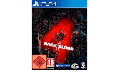 Warner Games Spiel »PS4 Back 4 Blood«, PlayStation 4 kaufen