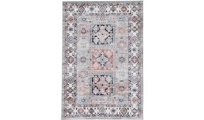 carpetfine Teppich »Vintage Kazach«, rechteckig, 6 mm Höhe, Orient Vintage Look kaufen